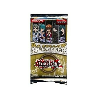 Yu Gi Oh Ra Yellow Mega Pack  X1  Pack See Pictures