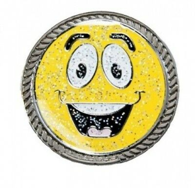 Navika KICKS CANDY Made It (Smiley Face) Glitzy Ball Marker with Round Shoe