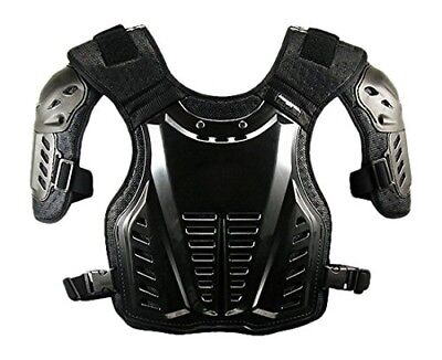 Komine Sk-600 Chest Protector Guard Black Free 04-600. Shipping Included