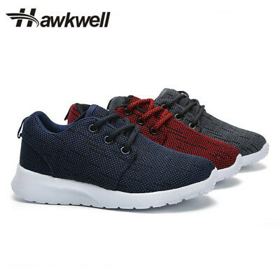 Hawkwell Fashion kids Breathable sneakers casual shoes boys girls lace up Cotton