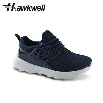 Hawkwell Kids Running Shoes  Athletic Sneakers Lace-up Boys Girls Khaki Outdoor