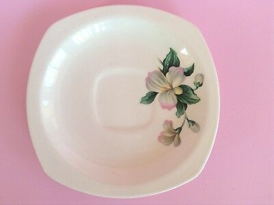 1950s MIDWINTER MODERN 'Stylecraft' Shape Saucer English Staffordshire Pottery