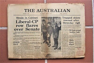 The Australian, First Edition Wednesday July 15  1964