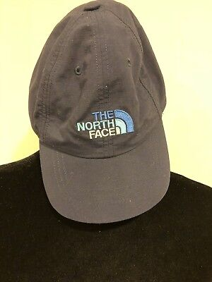 THE NORTH FACE Youth/Junior Small Classic Sport Hat Baseball Cap Navy Blue Logo
