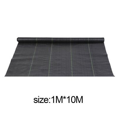 1m x 10m wide weed control fabric ground cover membrane landscape Driveway MR