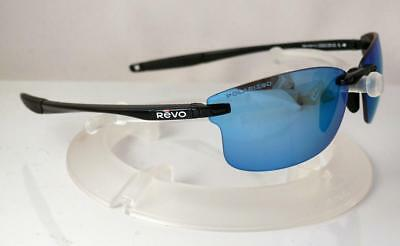 2eed9fadc2e REVO POLARIZED DESCEND S SUNGLASSES POLISHED BLACK WATER NEW Made in USA NEW