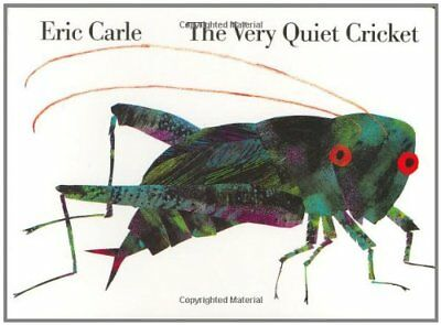 VERY QUIET CRICKET BOARD BOOK By Eric Carle **BRAND NEW**