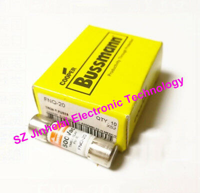 FNQ-20 BUSSMANN Time-delay Supplemental fuses 500V(A complete boxed is 10pcs)
