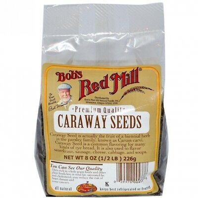 Caraway Seeds, 240ml (226 g). Bob's Red Mill. Free Shipping