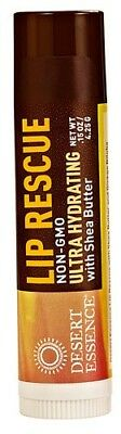 Desert Essence Lip Rescue® Ultra Hydrating with Shea Butter -- 5ml (pack of 4)