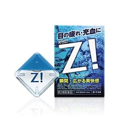 Rohto Z! Japanese Eye Drops for Dry, Tired and Red Eyes 12ml