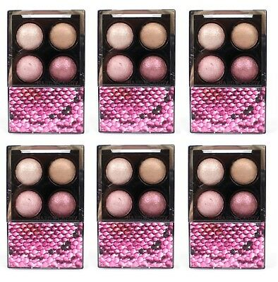 Hard Candy Mod Quad Baked Eye Shadow 718 Pink Interlude (Pack of 6). Brand New