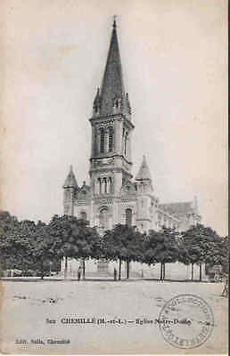 CPA - CHEMILLE - Eglise Notre Dame N°502