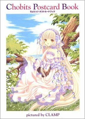 CHOBITS POSTCARD BOOK (CHOBITTSU POSUTOKAADO BUKKU) (IN JAPANESE) By Clamp *NEW*