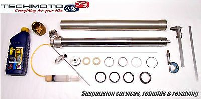fork rebuild service seals suspension GUZZI V 35 TT ENDURO 1990 91 92 93 94 95