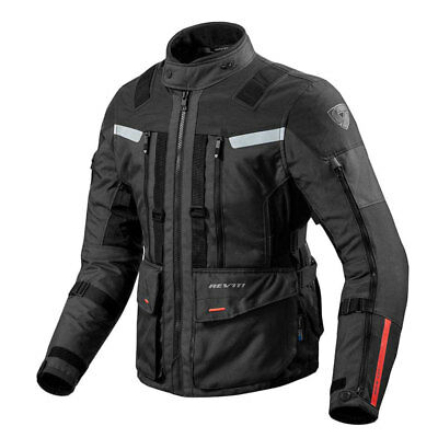 REV'IT | Sand3 Black Motorcycle Jacket Touring Adventure Triple Layer Sand-3