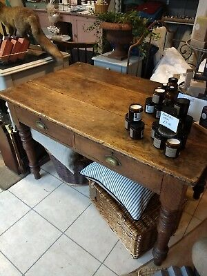 late victorian antique oak dining table.