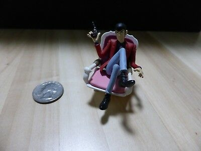 Lupin the 3rd w/Chair *Figure-Toy*Castle of Cagliostro Anime Studio Ghibli Japan