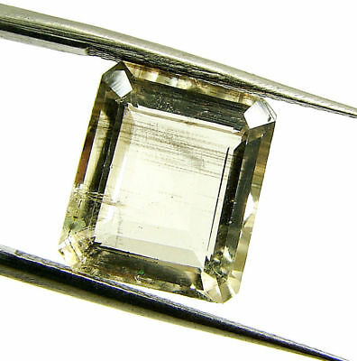5.84 Ct Certified Natural Scapolite Loose Octagon Gemstone Stone - 130510