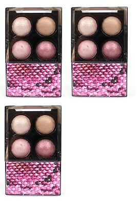 Hard Candy Mod Quad Baked Eye Shadow 718 Pink Interlude (Pack of 3). Brand New