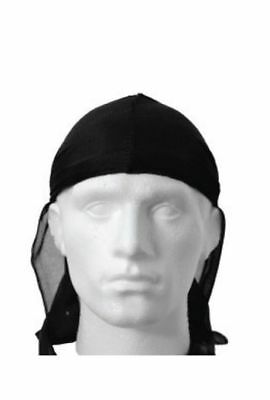 Men's Durag Bandanna Sports Du Rag Scarf Head Rap Tie Down Band Biker Cap UK