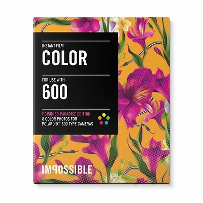 Impossible PRD3289 Color Instant Film (Poisoned Paradise - Fuchsia) - 600