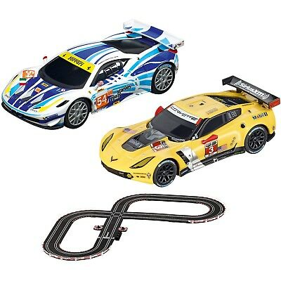 Carrera GO!!! GT Contest 1:43 Scale Slot Car Race Set. Brand New