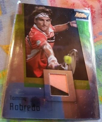 Tommy ROBREDO Ace Authentic GRAN SLAM II Materials card JC-6 VARIANT Tennis