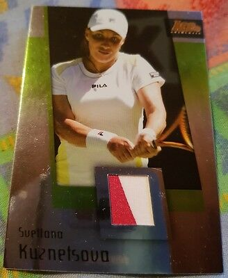 Svetlana KUZNETSOVA Ace Authentic GRAN SLAM II Materials card JC-10 VARIANT
