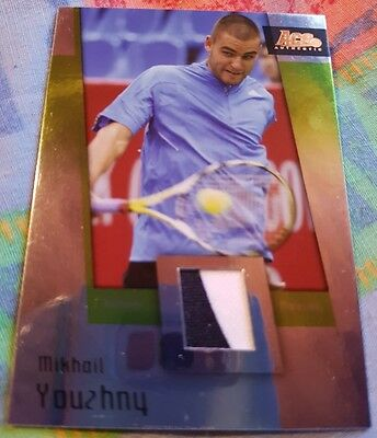 Mikhail YOUZHNY Ace Authentic GRAN SLAM II Materials card JC-9 VARIANT