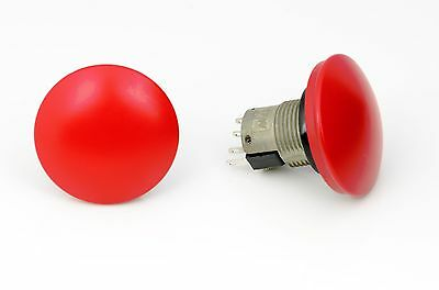 76-9440-4044R LARGE RED SWITCH MOMENTARY 1pc. ITW BRAND NEW
