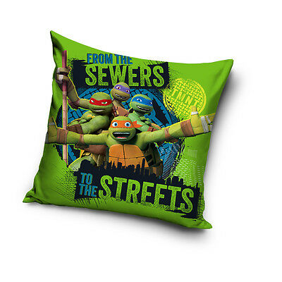 NEW Teenage Mutant NINJA TURTLES 04 cushion cover 40x40cm pillow cover
