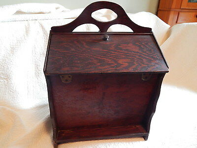 Vintage Wooden Sewing Box LARGE with insert