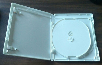 NEW White 10 Pk VIVA ELITE Hold 3 Discs Triple Blu-Ray replacement case Holder