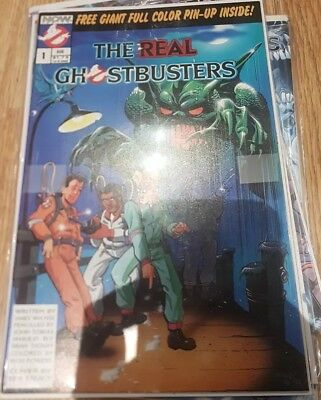 The Real Ghostbusters #1 (First ghostbusters comic)!