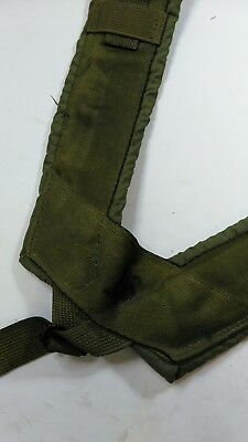 US Military LC-1 LC-2 ALICE SUSPENDERS Belt OD Green Y Type Straps Load Bearing