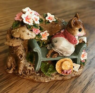 Wee Forest Folk LOVE LETTER FS-05 BRAND NEW/NEVER DISPLAYED w/box. RETIRED/MINT.