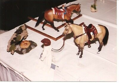 Breyer Model Horse Obsticles for Showing-Bridge, Mailbox, Deer, rabbit