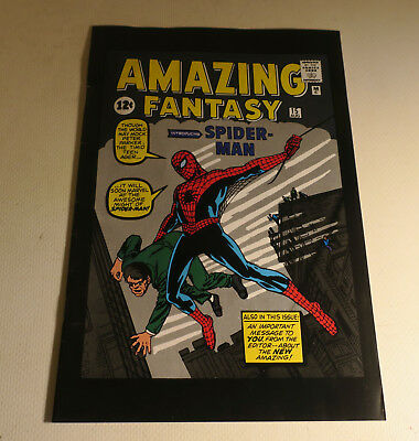 AMAZING FANTASY #15 TOY BIZ REPRINT 1st APPEARANCE SPIDER-MAN 2001 Excellent