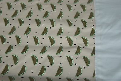 Moses Basket Light Weight Quilt Coverlet Soft Fleece Backed Lining Water Melon