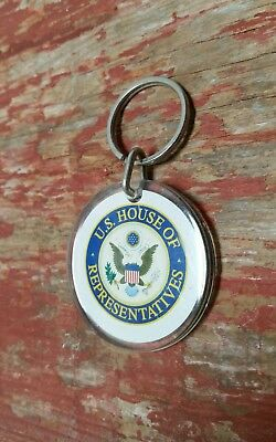 Political Keychain Luggage Tag U.S. House of Representatives Car Auto Truck