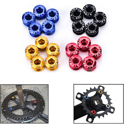 Litepro MTB Bike Chainring Bolts Chainwheel Screws Bicycle Single / Double Speed