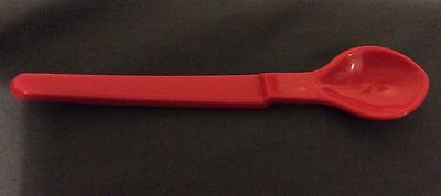 Tupperware Hang On Kids | Baby Spoon - RED - Brand New