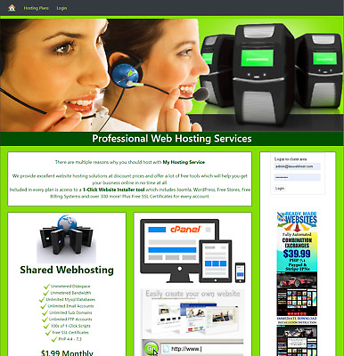 THT04  Hosting Reseller Automated Billing System Work from Home