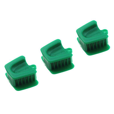 Silicone Dental Mouth Prop Bite Block Cushion Rubber Adult Opener Retractor # L