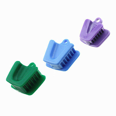 10 Pcs Silicone Dental Mouth Prop Bite Block Cushion Rubber Opener Retractor