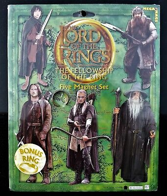 The Lord Of The Rings 2001  The Fellowship Of The Rings Legolas  5 Magnet Set