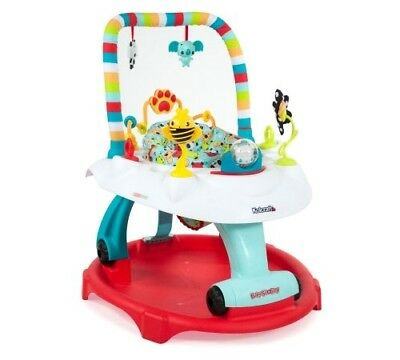 Kolcraft Baby Sit & Step 2-in-1 Activity Center