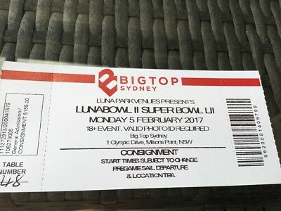 Luna Bowl tickets