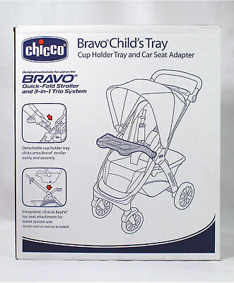 Chicco Bravo Child's Tray and Car Seat Adapter for KeyFit